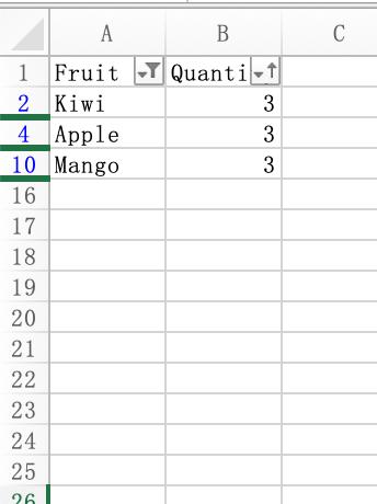 Python中用OpenPyXL处理Excel表格  潘高的小站